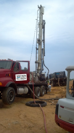 Charles County Maryland Water Well Drilling Project